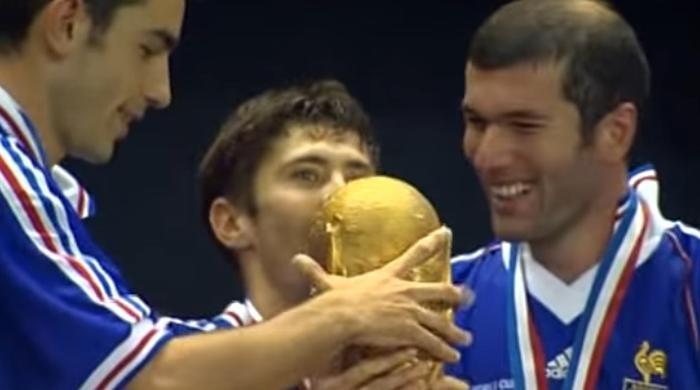 Frankrike i VM Zidane