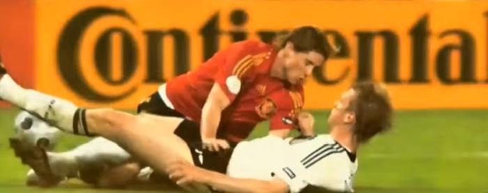 Tyskland Spanien fotboll