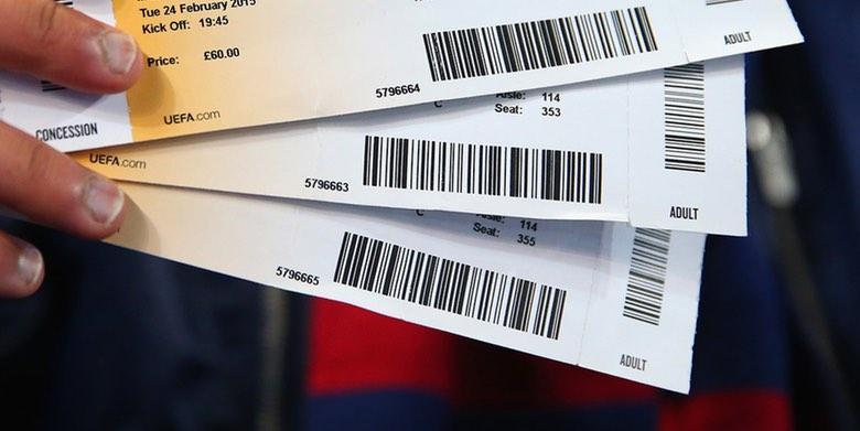 Biljetter till match