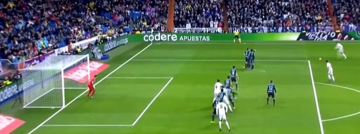 Real Madrid offside mål